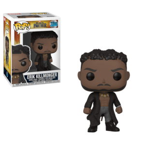 POP BOBBLE: MARVEL: BLACK PANTHER: KILLMONGER W/ SCARS imagine