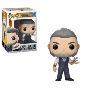 POP BOBBLE: MARVEL: BLACK PANTHER: ULYSSES KLAUE imagine