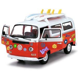 Masina Dickie Toys Volkswagen Surfer Van cu accesorii imagine