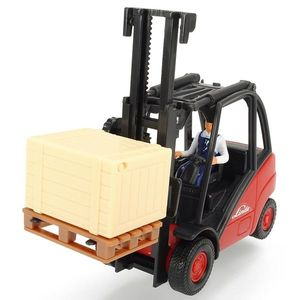 Stivuitor Dickie Toys Cargo Lifter cu accsorii imagine