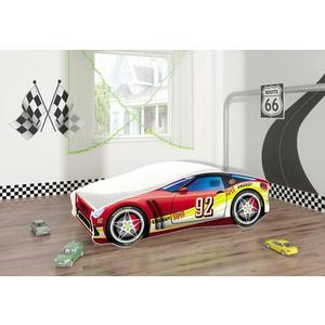 Pat Tineret MyKids Race Car 05 Red-160x80 imagine