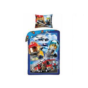 Lenjerie de pat LEGO City (LEG-822) imagine