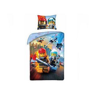 Lenjerie de pat LEGO City (LEG-823) imagine