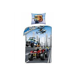 Lenjerie de pat LEGO City (LEG-824) imagine