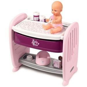 Patut Co-Sleeper pentru papusi Smoby Baby Nurse 2 in 1 imagine