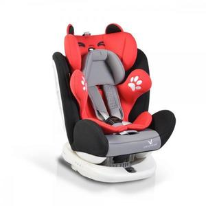 Scaun auto rotativ cu isofix 0-36 kg Bear Red imagine