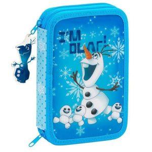 Penar echipat 34 piese OLAF bleu 20.5x13.5x4.5 cm imagine