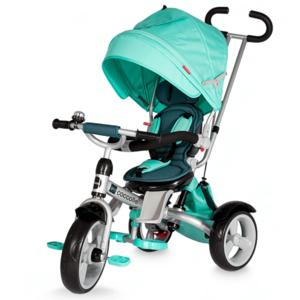 Tricicleta Coccolle Giro Multifunctionala Verde imagine