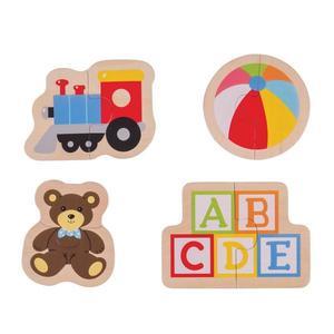 Puzzle ABC BigJigs imagine