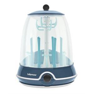 Babymoov A003110 – Sterilizator electric si uscator de biberoane 2 in 1 Turbo (+) imagine