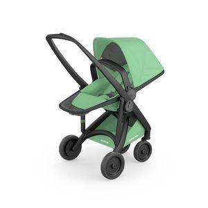 Carucior, Greentom, Reversible, 100% Ecologic, Black Mint imagine