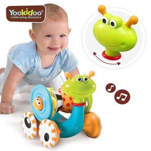 Jucarie Melcul muzical, 2 in 1, premergator si sortator, Yookidoo, 6-24 luni imagine