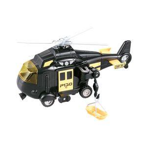 Elicopter cu lumini si sunete Cool Machines, Negru imagine