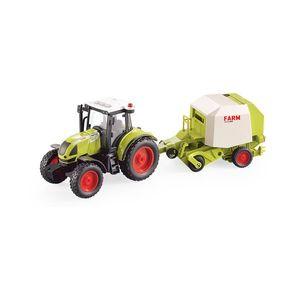 Tractor cu presa de balotat Cool Machines imagine