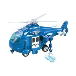 Elicopter cu lumini si sunete Cool Machines, Albastru imagine