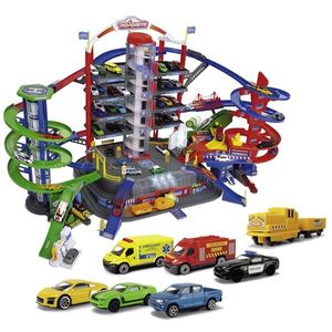 Pista de masini Majorette Super City Garage imagine