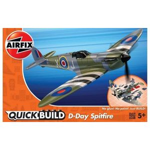 Kit cosntructie Airfix Quick Build Avion D-Day Spitfire imagine