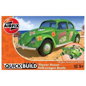 Kit constructie Airfix Quick Build Masina Flower Power imagine