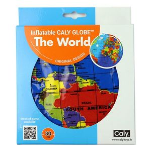 Minge gonflabila - The World - Political Globe | Caly imagine