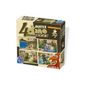 4 Puzzle Dino imagine