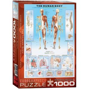 Puzzle 1000 piese The Human Body imagine
