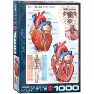 Puzzle 1000 piese The Heart imagine