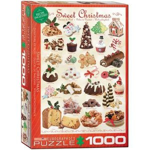 Puzzle 1000 piese Sweet Christmas imagine