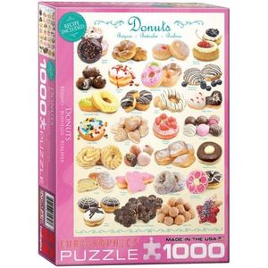 Puzzle 1000 piese Donuts imagine