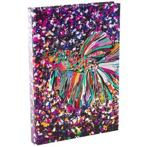 Agenda Goldbuch A5 cu efect special Pestele floare imagine
