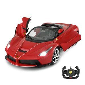 Masinuta cu telecomanda Rastar Ferrari LaFerrari Aperta, 1: 14, Rosu imagine