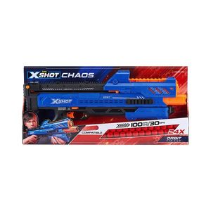 Set blaster X-Shot Chaos Orbit Dart Ball cu 24 de proiectile imagine