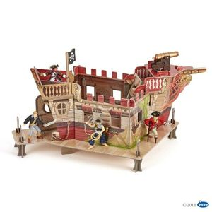Puzzle 3D Papo - Corabie Pirati imagine