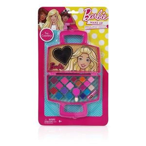 Trusa de cosmetice in forma de gentuta, Barbie imagine