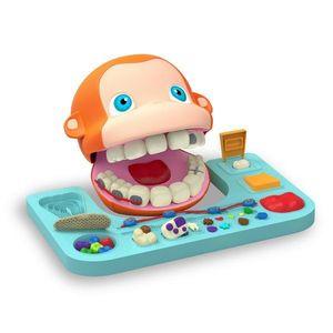 Set de joaca Plastelino - Maimutica la dentist cu plastilina 2 imagine