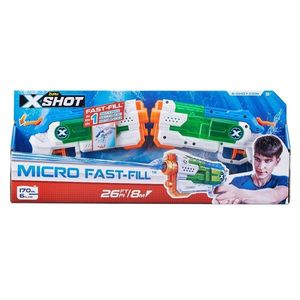 Set pistoale cu apa X-Shot Warfare Micro Fast-Fill imagine