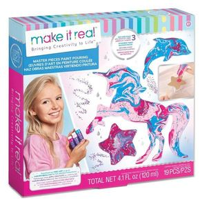 Set de figurine din vopseluri acrilice Make it Real, 19 piese imagine