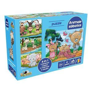 Puzzle Noriel - Animale salbatice imagine