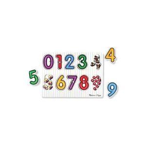 Puzzle din Lemn Cifre imagine