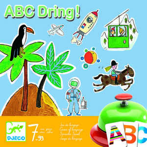 Joc de societate abecedar - ABC dring Djeco imagine