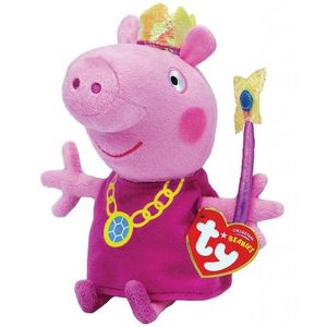 Plus licenta Peppa Pig, Printesa (15 cm) - Ty imagine