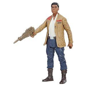 Figurina Star Wars Force Link - Finn, luptator al Rezistentei, 10 cm imagine