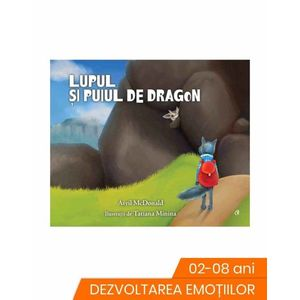 Lupul si puiul de dragon imagine