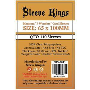 Set 110 Magnum 7 Wonders Card Sleeves - 65 x 100 mm imagine