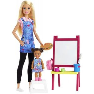 Set Papusa Barbie Profesoara imagine