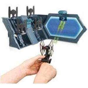 Jucarie Hot Wheels Star Wars Tie Fighter Blast-Out Battle Play Set imagine