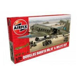 Airfix Douglas Dakota Mkiii Willys Jeep imagine