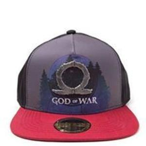 Sapca God Of War Sublimation Print Metal Badge Snapback Cap imagine