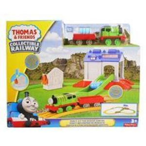 Jucarii Thomas And Friends Collectible Railway Percy At The Rescue Centre imagine