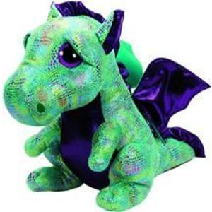 Jucarie De Plus Ty Beanie Boos Cinder The Dragon Plush Toy 40Cm imagine