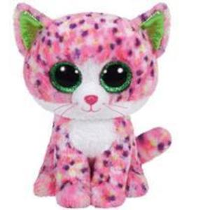 Jucarie De Plus Ty Beanie Boos Sophie The Pink Cat Plush Toy 23Cm imagine